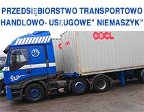 """Przedsiębiorstwo Transportowo - Handlowo- Usługowe"""" Niemaszyk"""""""
